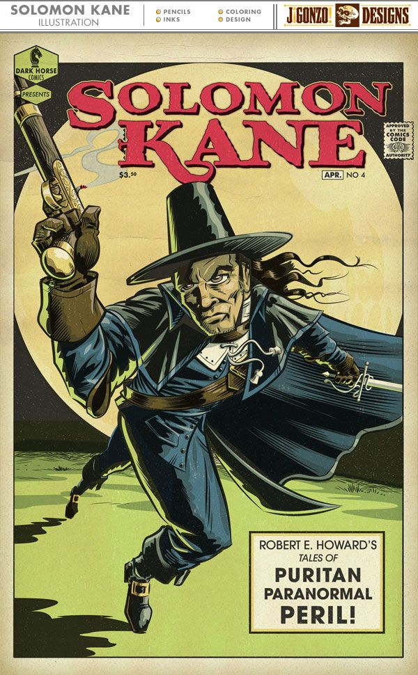 Solomon Kane coloring #10, Download drawings