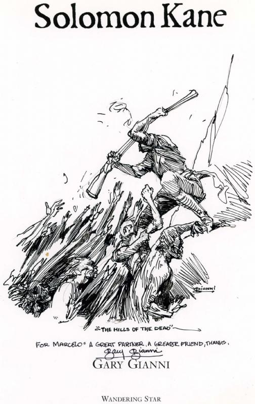 Solomon Kane coloring #15, Download drawings