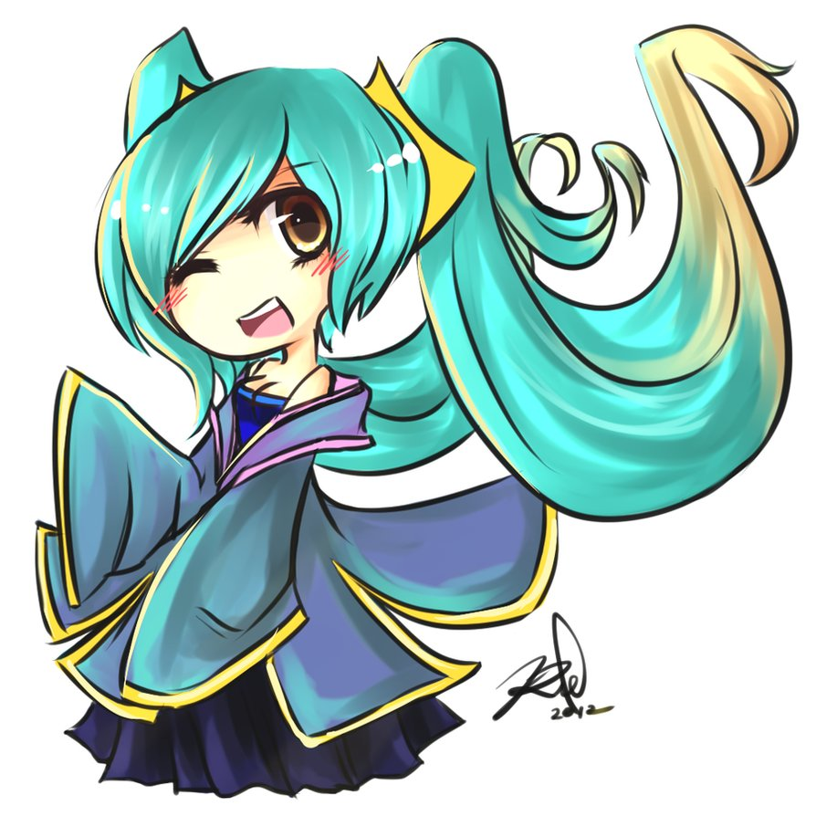 Sona (League Of Legends) clipart #15, Download drawings