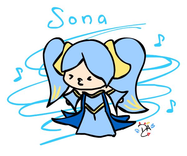 Sona (League Of Legends) clipart #20, Download drawings