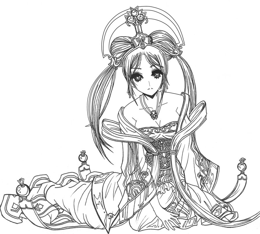 Sona (League Of Legends) coloring #19, Download drawings