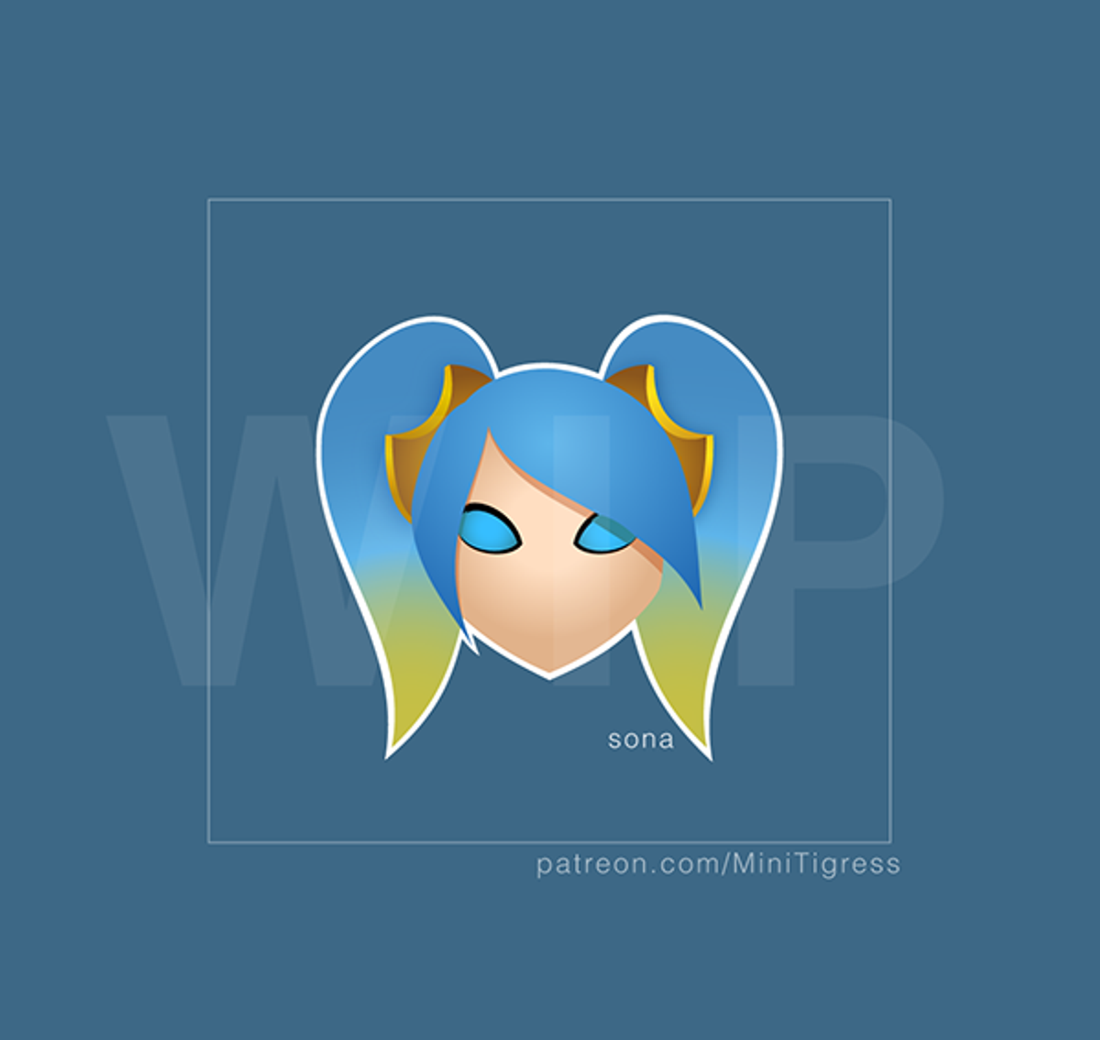 Sona (League Of Legends) svg #11, Download drawings