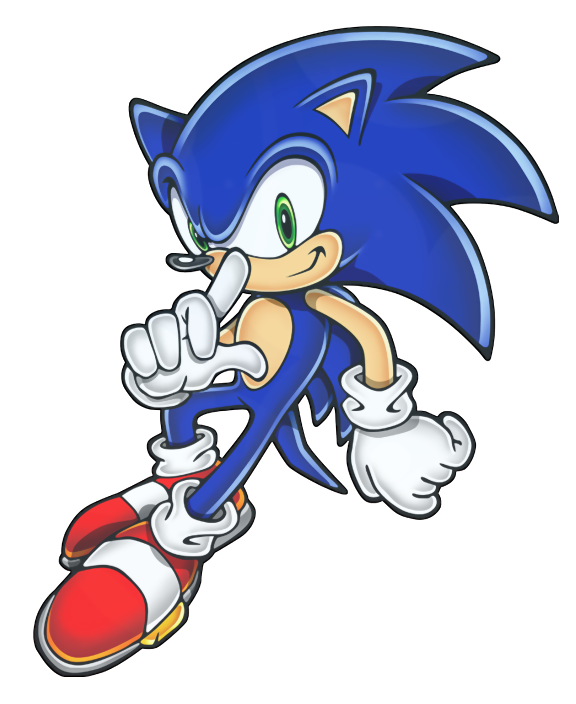 Sonic The Hedgehog clipart #5, Download drawings