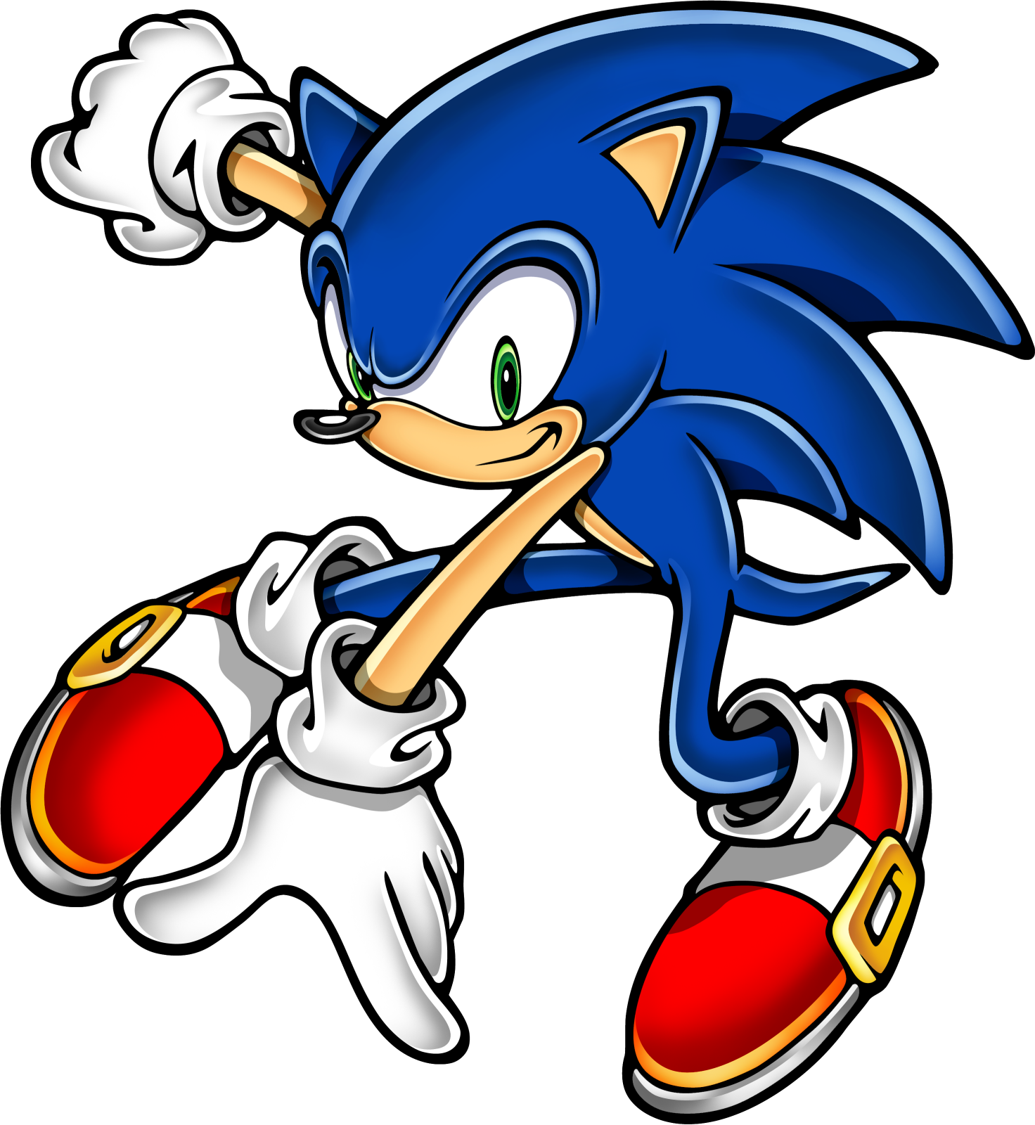 Sonic The Hedgehog clipart #2, Download drawings