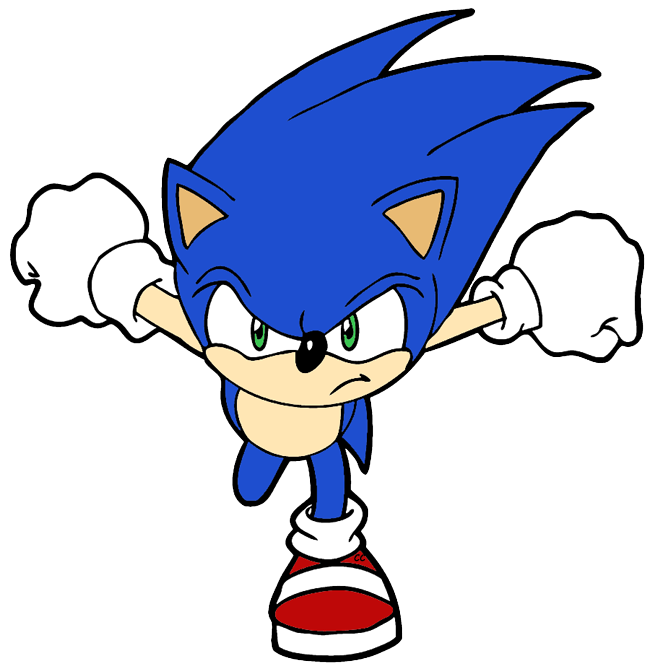 Sonic The Hedgehog clipart #14, Download drawings