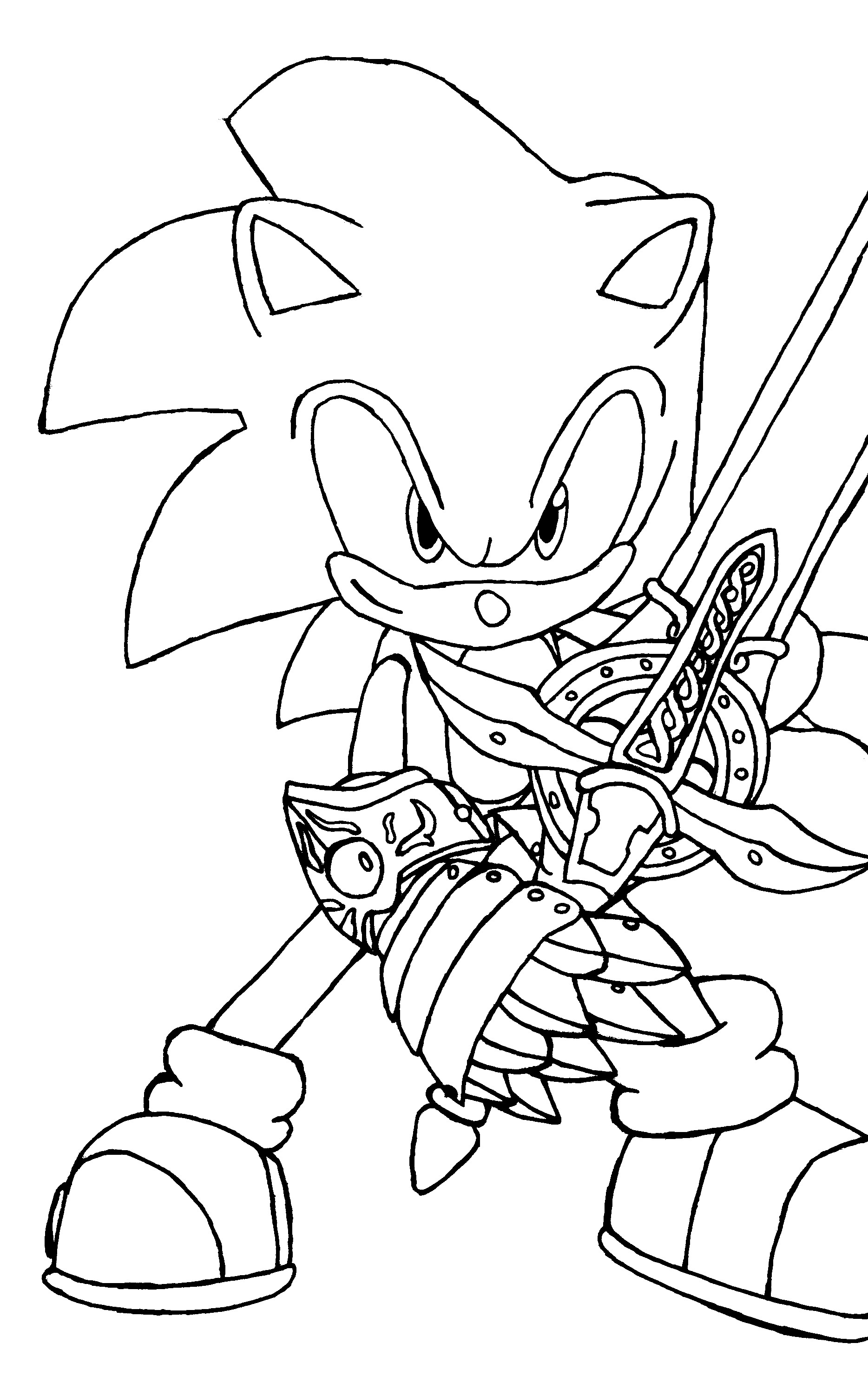 Sonic The Hedgehog coloring #6, Download drawings