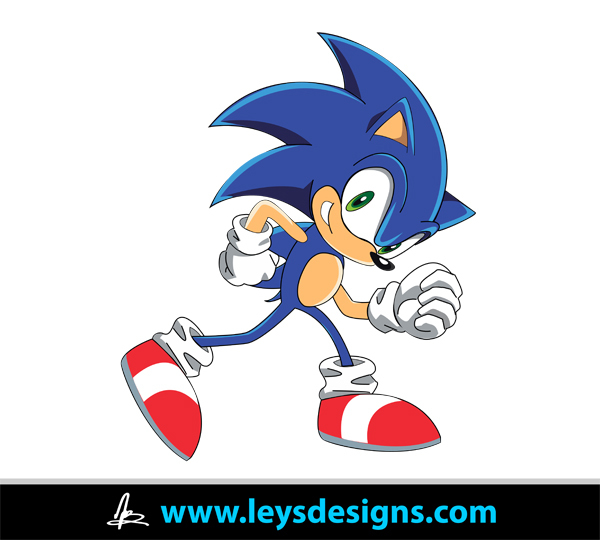 Sonic The Hedgehog svg #11, Download drawings