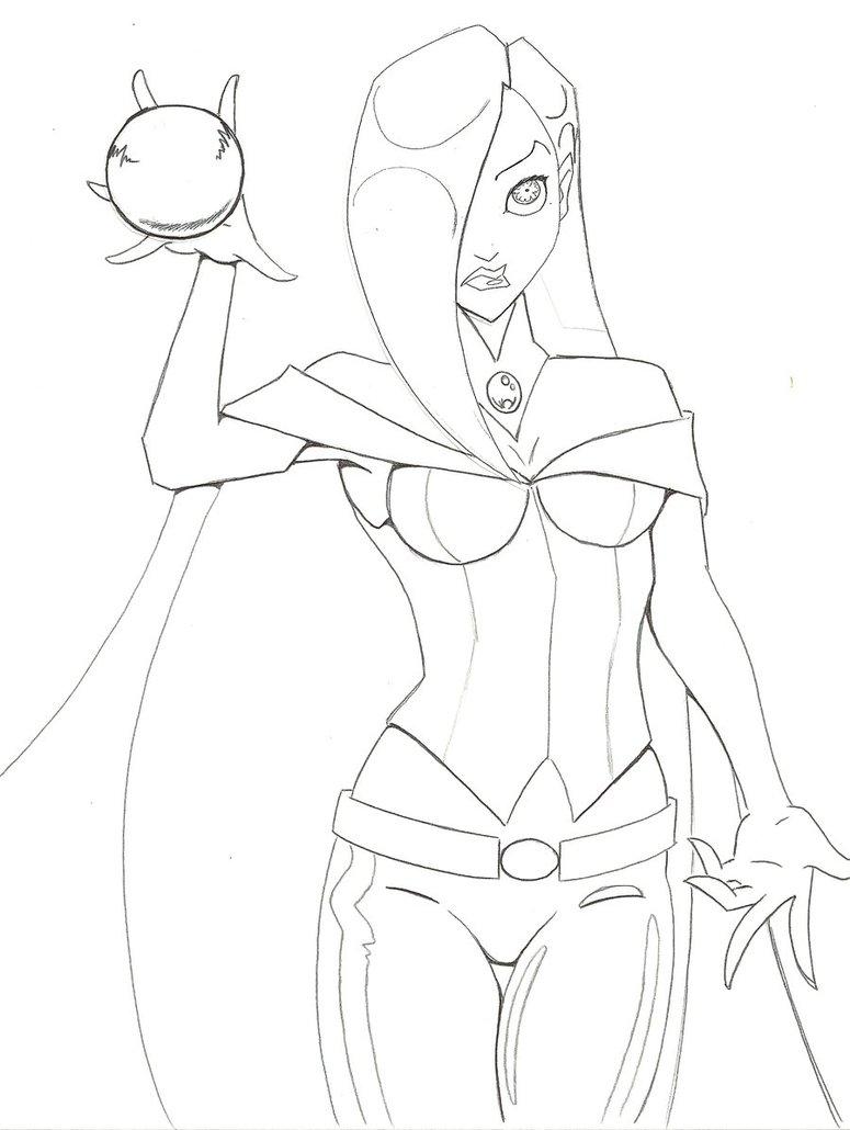 Sorceress coloring #19, Download drawings