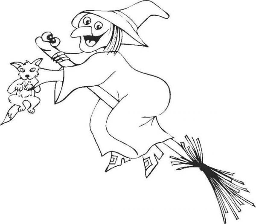 Sorceress coloring #5, Download drawings