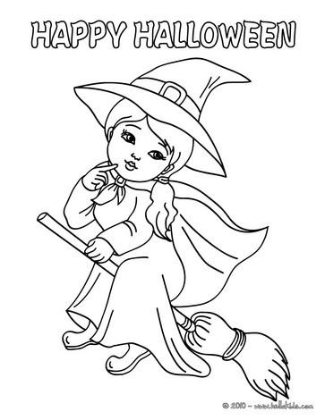 Sorceress coloring #2, Download drawings