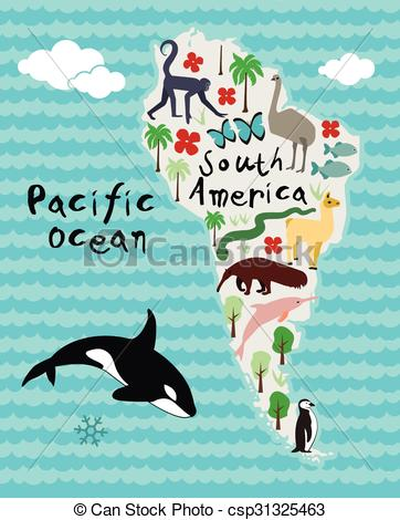 South America clipart #4, Download drawings