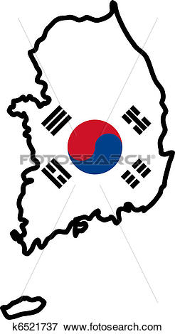 South Korea clipart #2, Download drawings