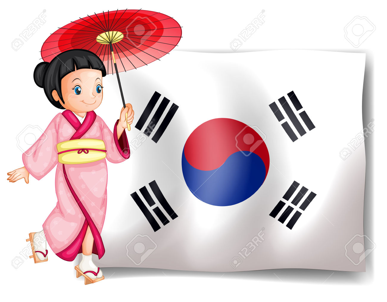 South Korea clipart #15, Download drawings