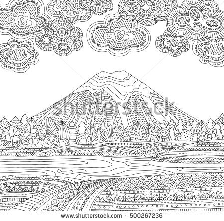 Southern Alps coloring #17, Download drawings