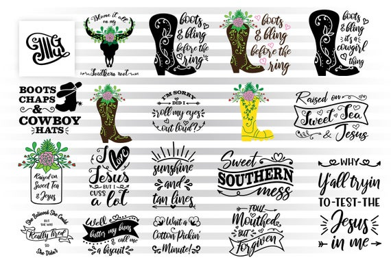southern girl svg #1153, Download drawings