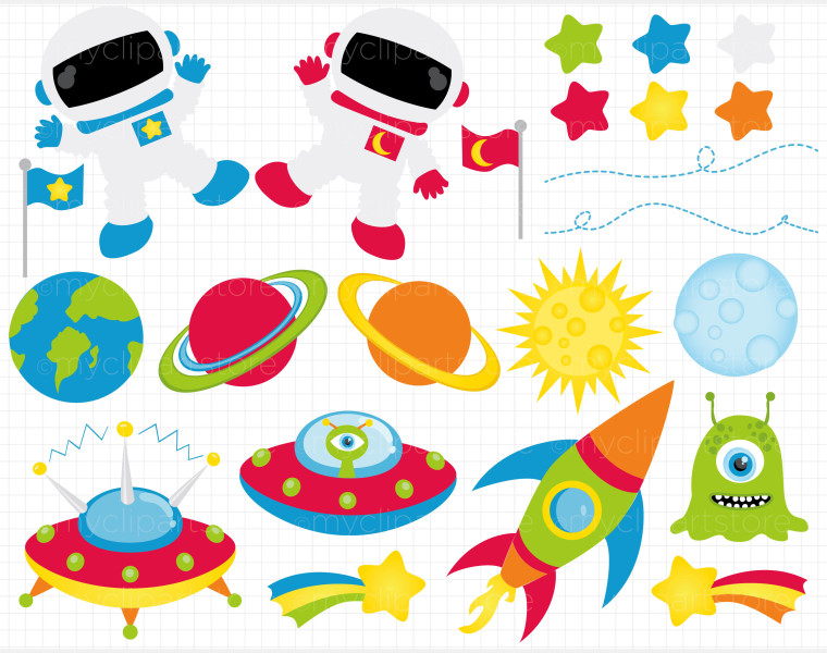 Space clipart #5, Download drawings