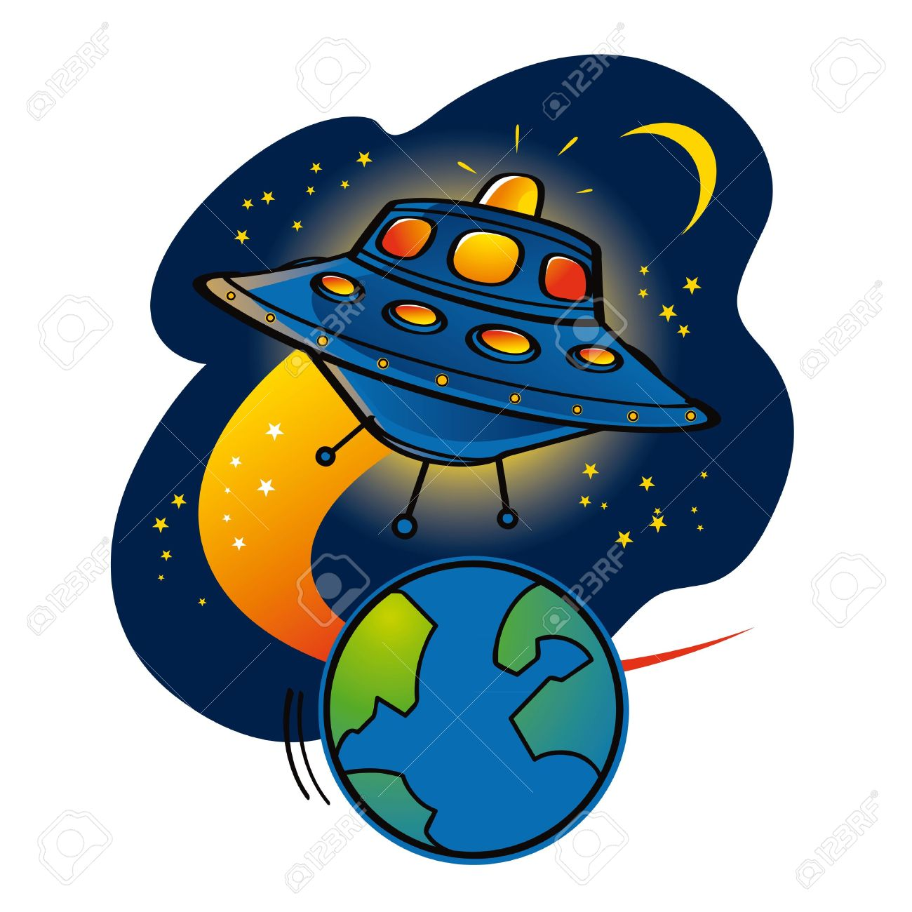 Space clipart #1, Download drawings