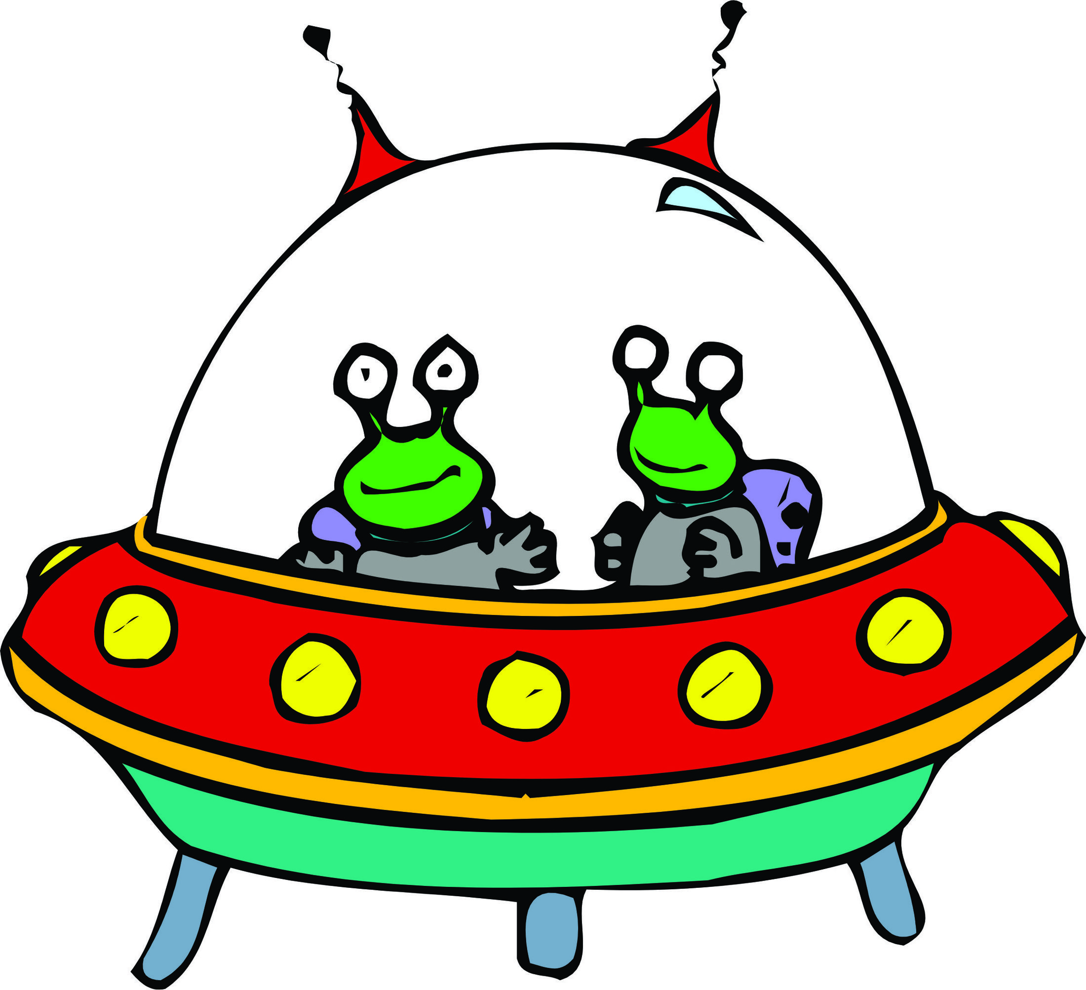 Spaceship clipart #2, Download drawings