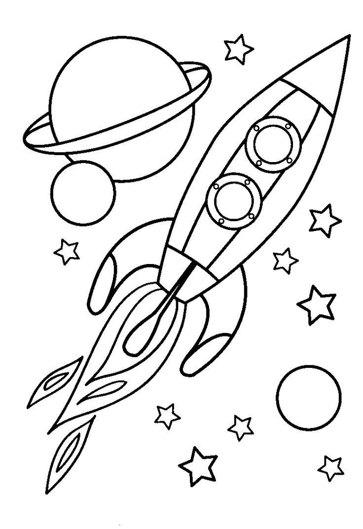 Spaceship coloring #9, Download drawings