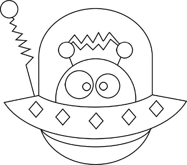 Spaceship coloring #4, Download drawings