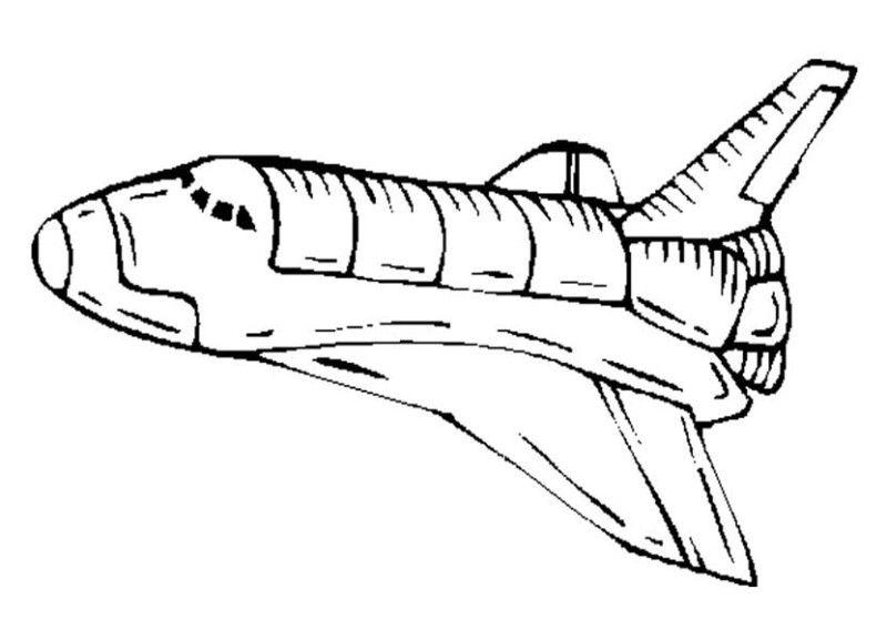 Spaceship coloring #2, Download drawings