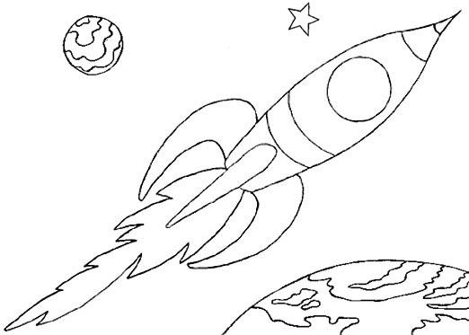 Spaceship coloring #18, Download drawings