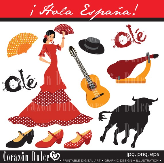 Spain clipart #10, Download drawings
