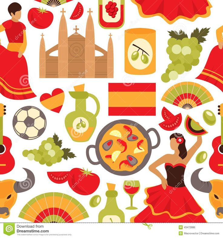 Spain clipart #1, Download drawings