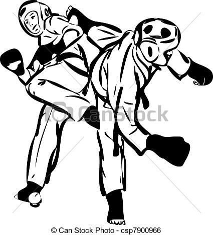 Sparring clipart #14, Download drawings