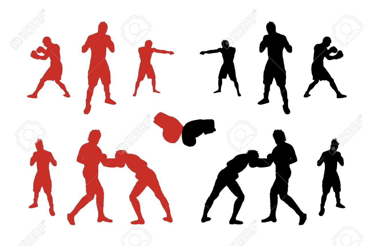 Sparring clipart #19, Download drawings