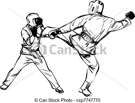Sparring clipart #11, Download drawings