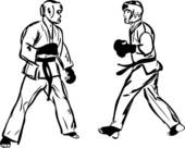 Sparring clipart #3, Download drawings