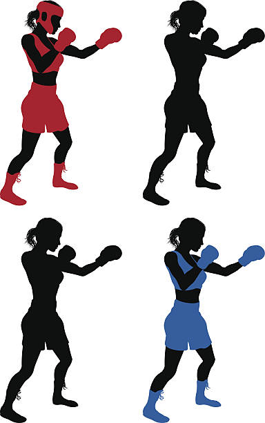 Sparring clipart #15, Download drawings