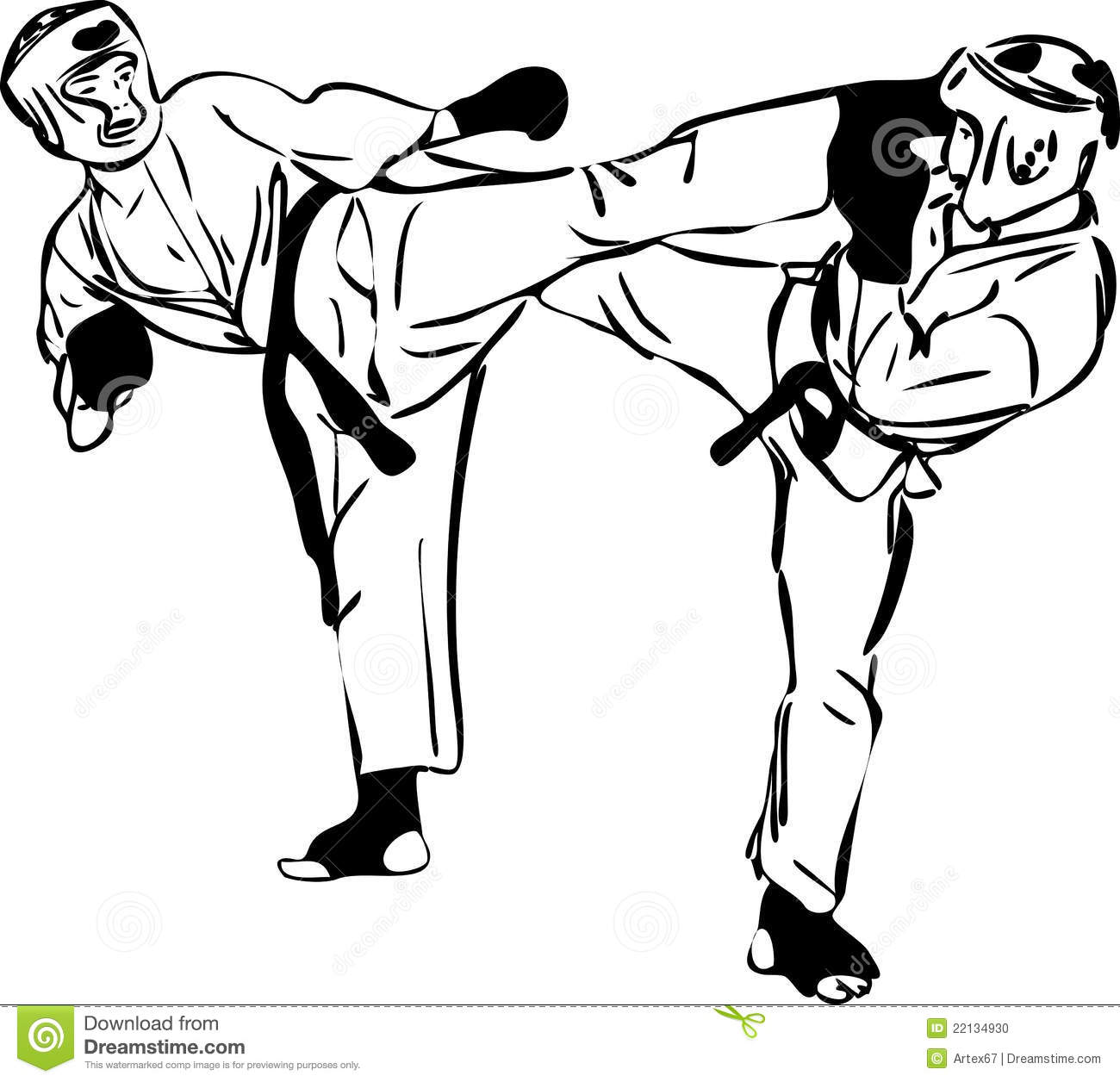 Sparring clipart #8, Download drawings