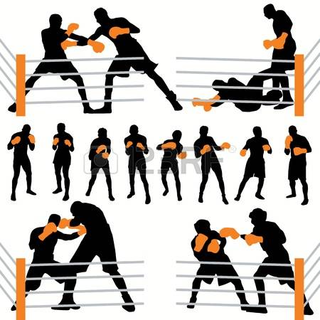 Sparring clipart #20, Download drawings