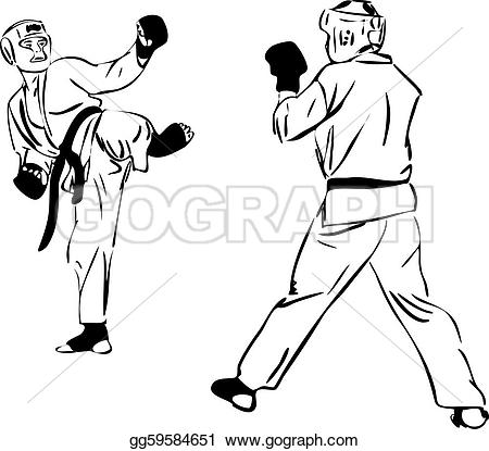 Sparring clipart #5, Download drawings