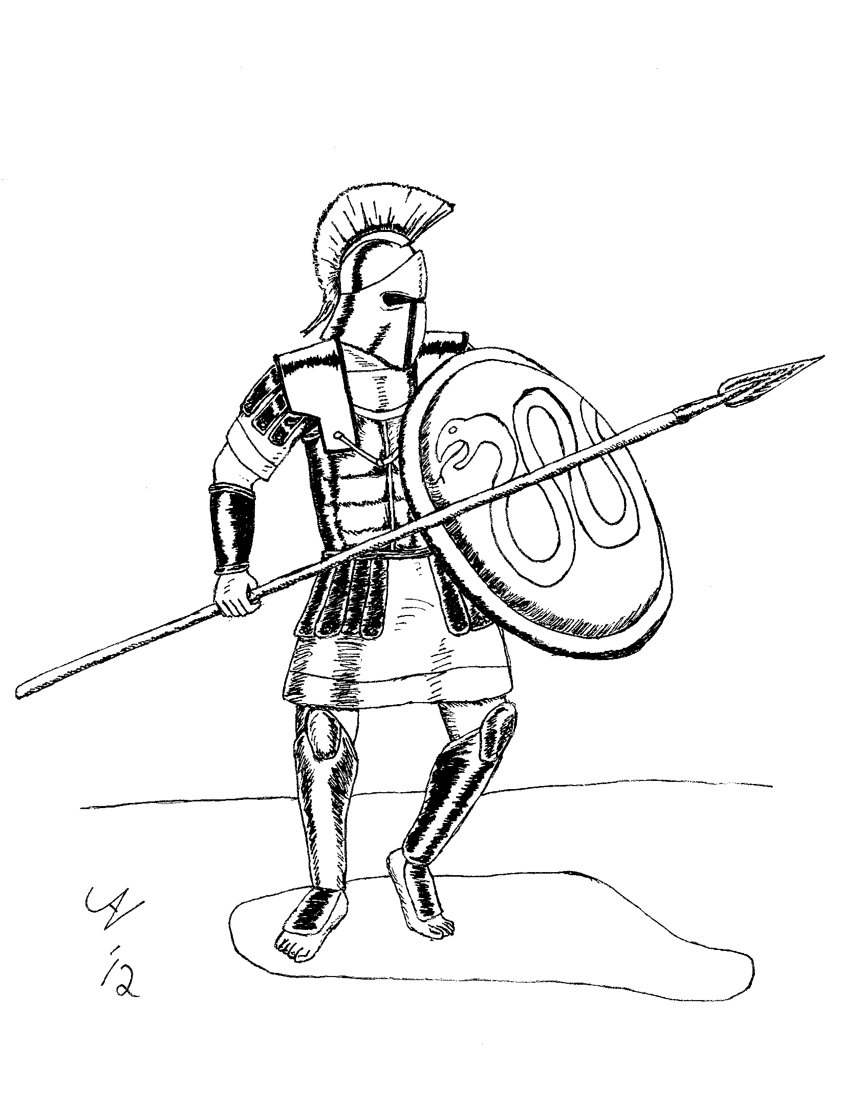 Sparta coloring #13, Download drawings