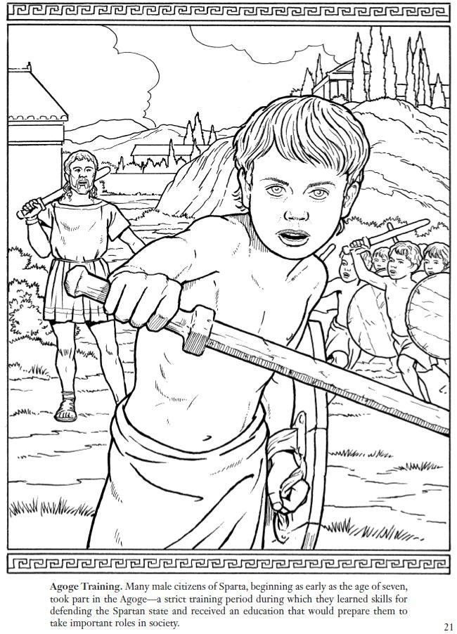Sparta coloring #9, Download drawings