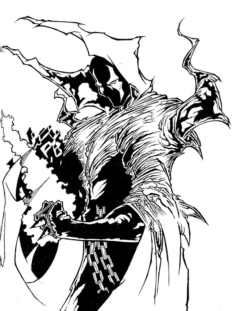 Spawn clipart #2, Download drawings