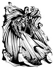 Spawn coloring #12, Download drawings