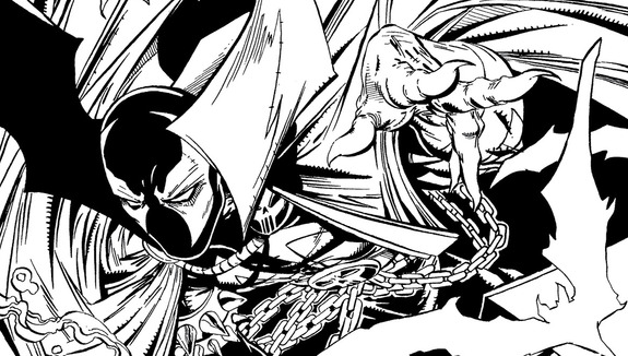 Spawn coloring #20, Download drawings