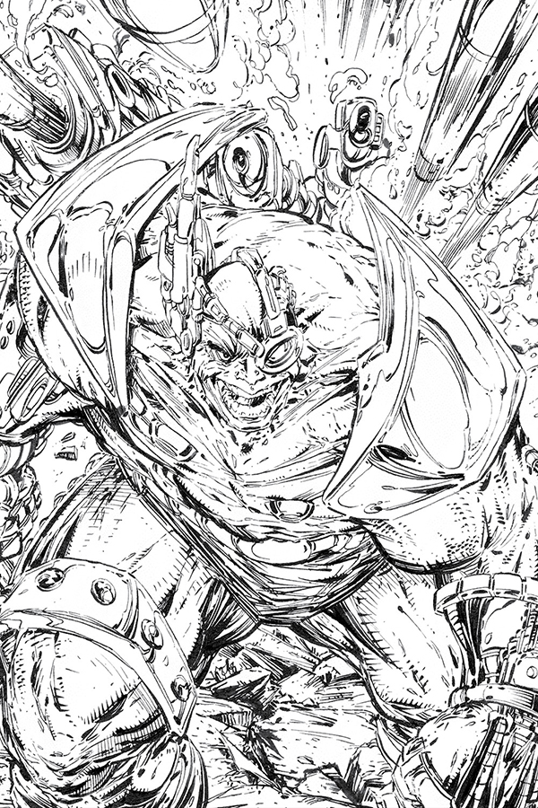 Spawn coloring #11, Download drawings