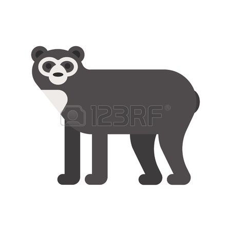 Spectacled Bear clipart #7, Download drawings