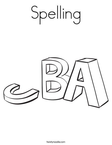 Spell coloring #19, Download drawings