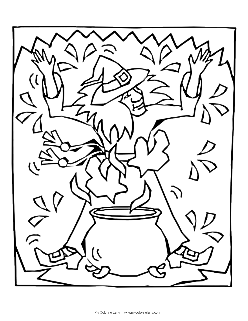 Spell coloring #2, Download drawings