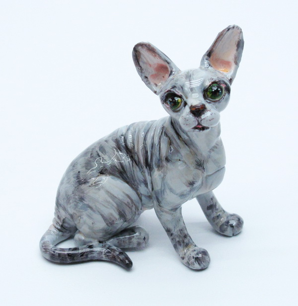 Sphynx Cat coloring #4, Download drawings