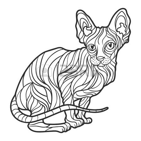 Sphynx clipart #7, Download drawings