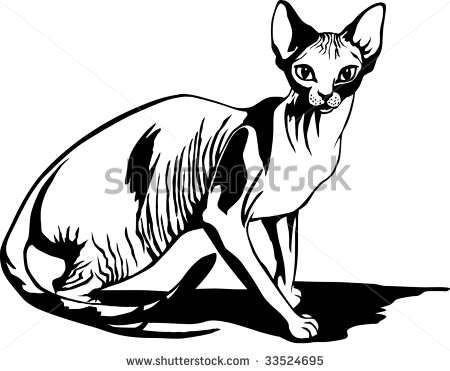 Sphynx clipart #4, Download drawings
