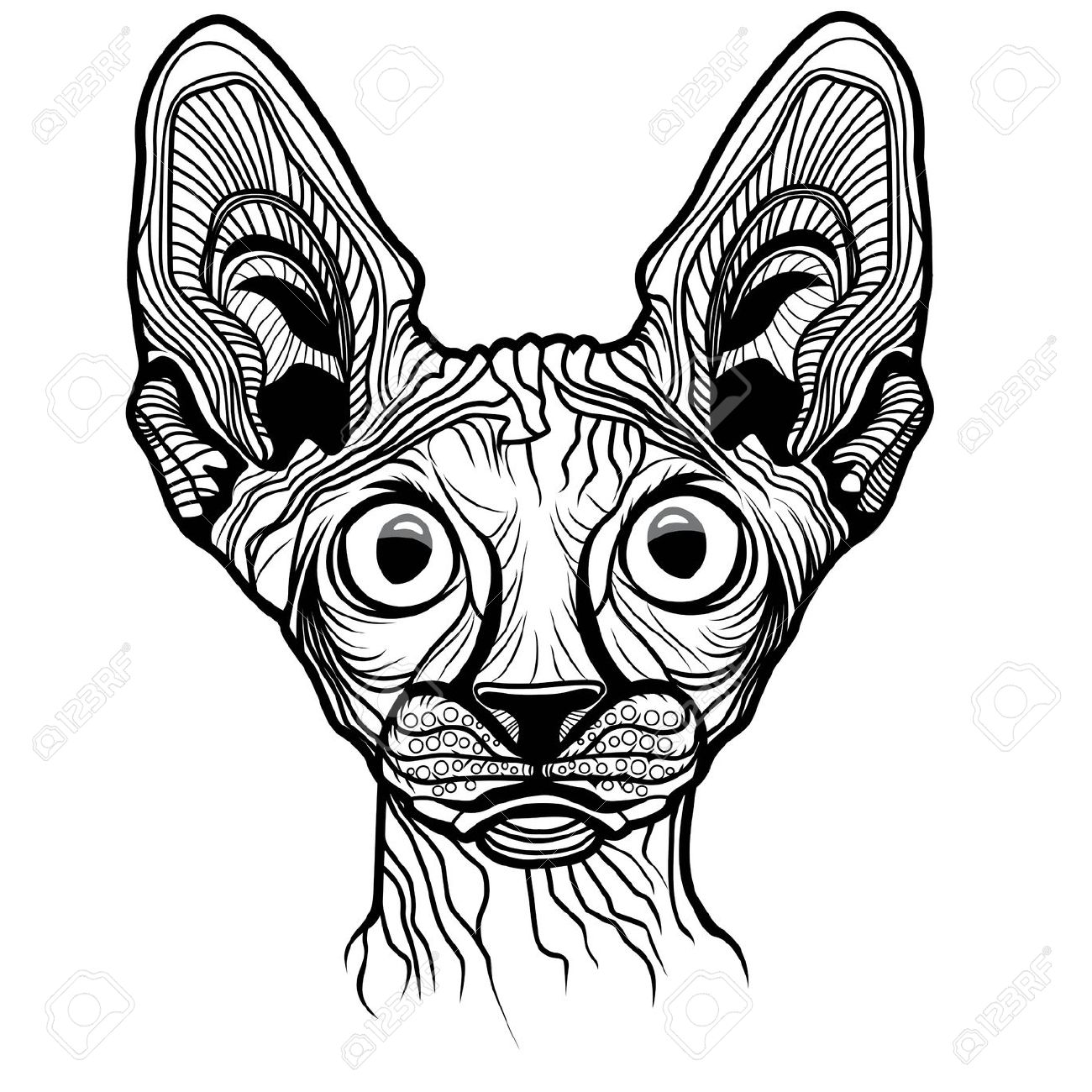 Sphynx clipart #5, Download drawings