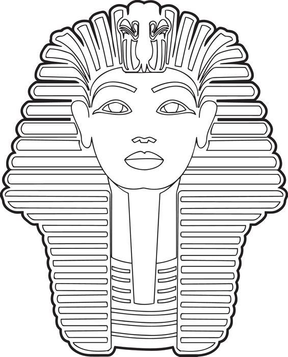 Printable Egyptian Sphinx Template Golfclub